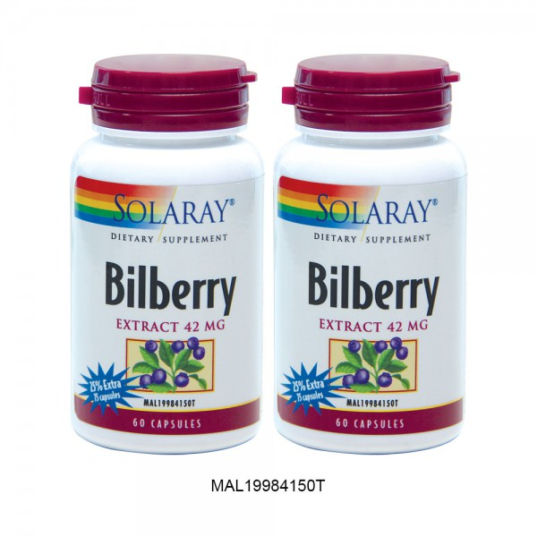 SOLARAY BILBERRY EXTRA 25%  + 2ND 50% OFF (MAL19984150T)